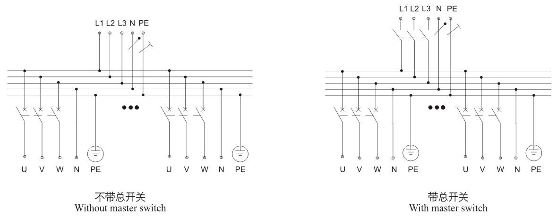 动力柜接线原理图