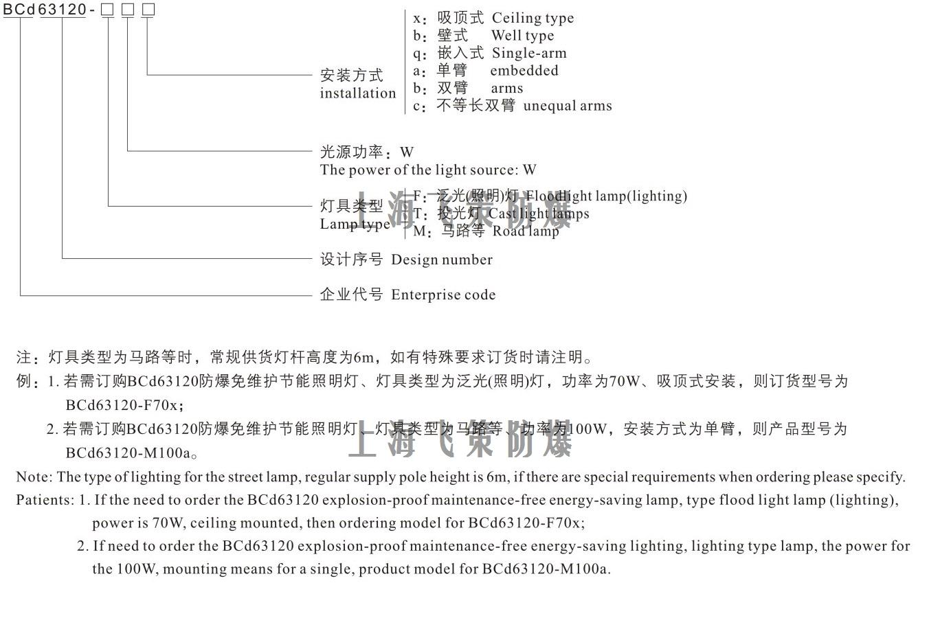 LED防爆灯150W型号